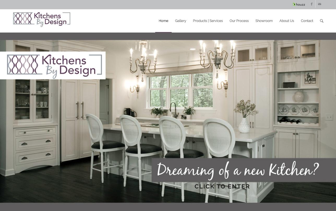 Kitchen Designer website by Nancy Wojack Hendrickson