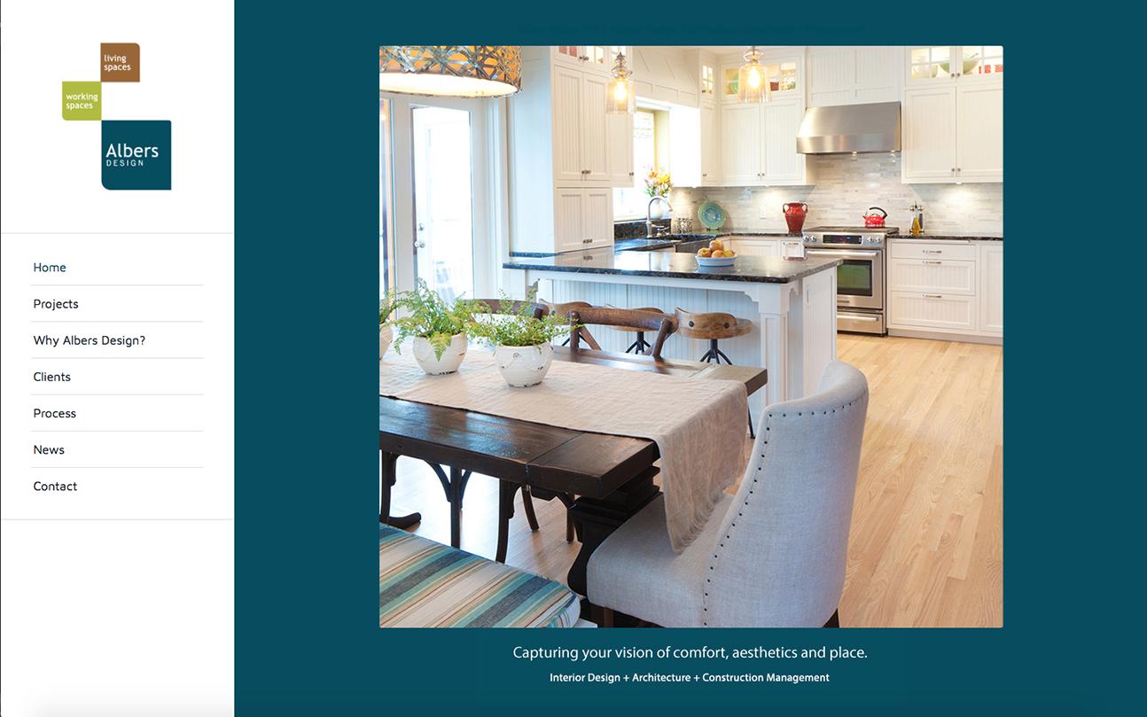 Interior Designer Website by Wojack Hendrickson Design